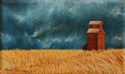Abandoned painted by Wendy Palmer.<br>