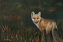 Ayla's Fox painted by Wendy Palmer.<br>